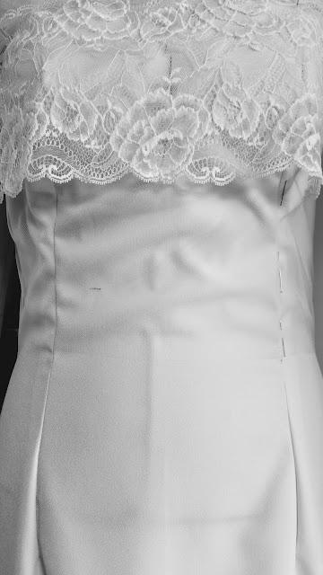 robe de mariée dentelle à Versailles 78
