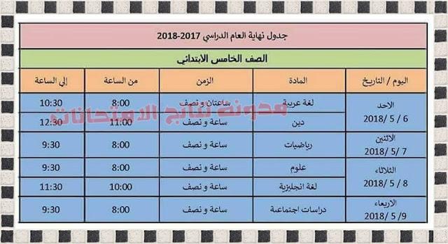جداول امتحانات محافظة الإسكندرية 2018 جميع المراحل (ابتدائى واعدادى وثانوى ودبلومات)
