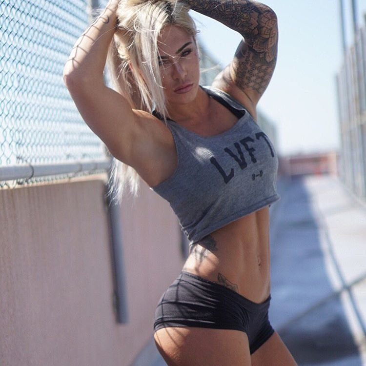 Australian Fitness Model Cassie - BadAssCassFit