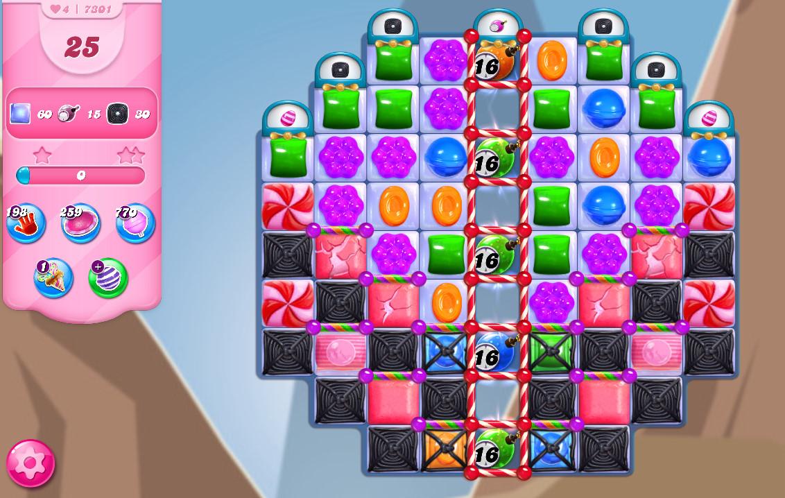 Candy Crush Saga level 7301