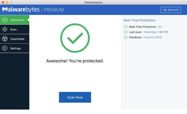 Malwarebytes for Mac Premium license key