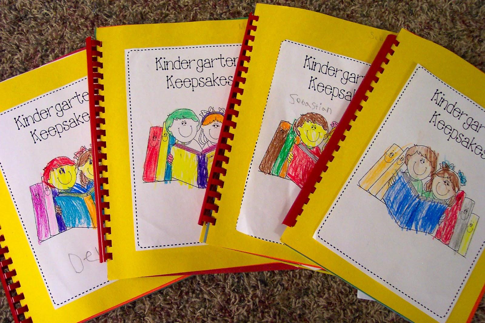 Kinderdi Kindergarten Keepsakes Book