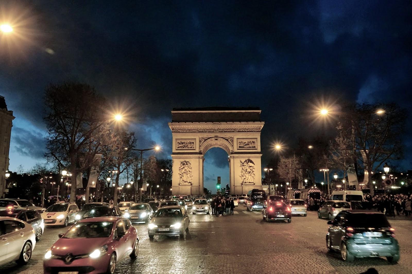 エトワールの凱旋門(Arc de triomphe de l'Étoile)