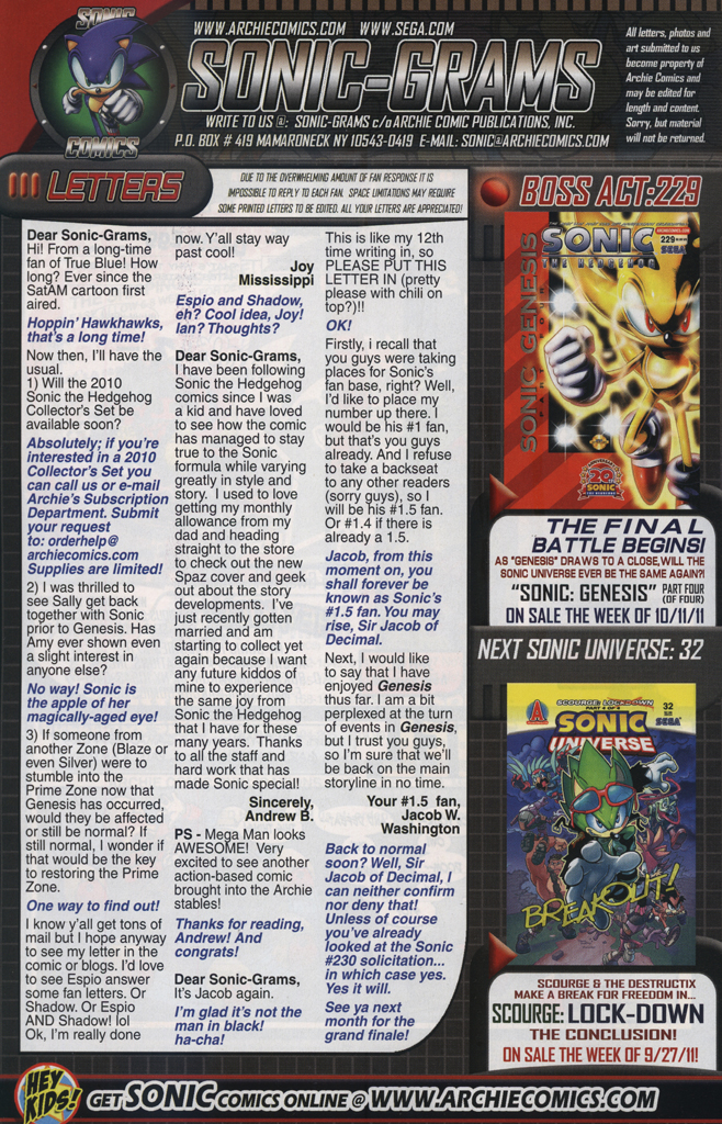 Read online Sonic The Hedgehog comic -  Issue #228 - 34