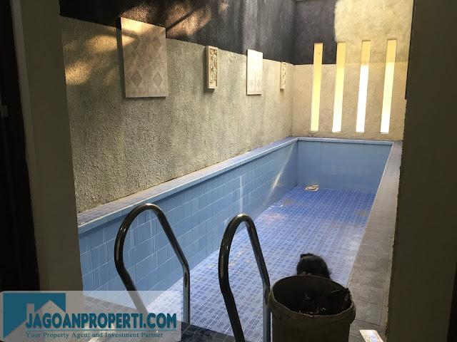 Rumah dijual di Malang ada kolam renang murah