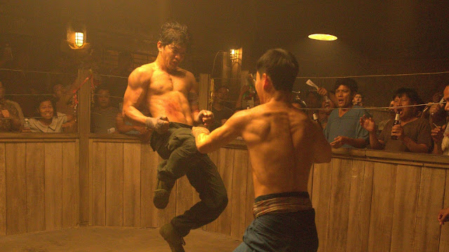 Iko Uwais fights Tiger Chen