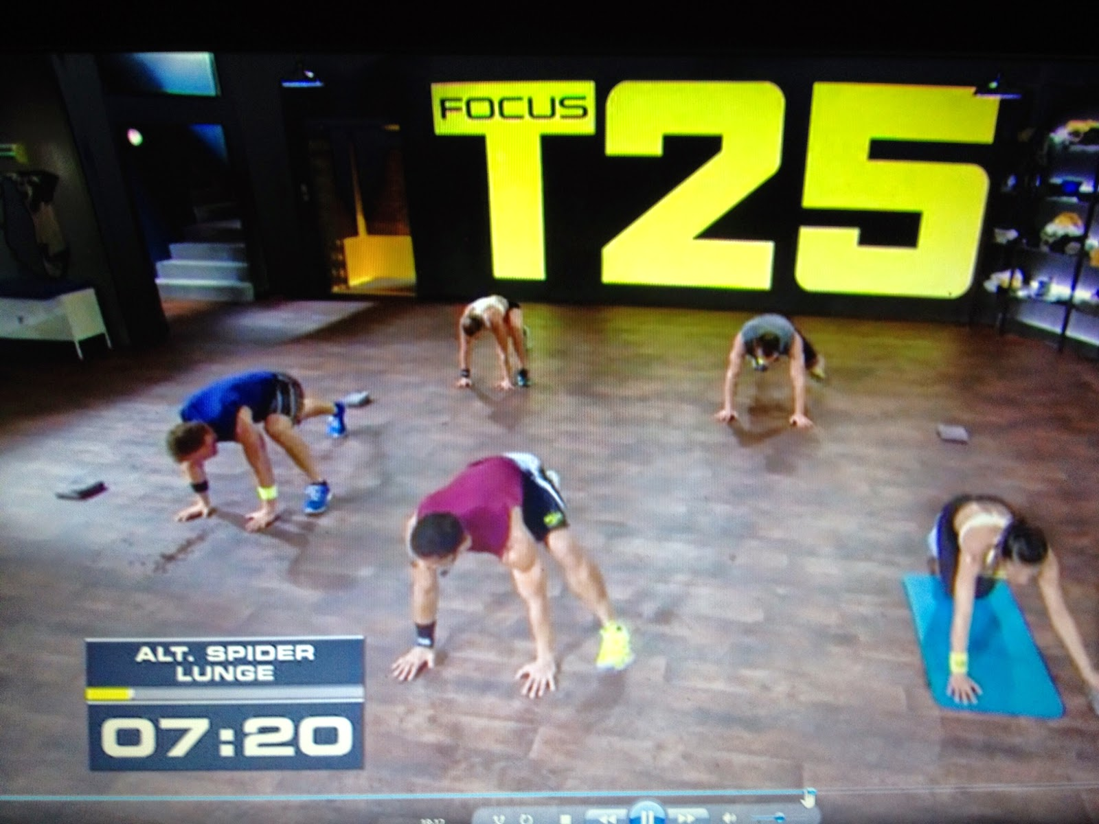 Sharon's Running and Other Adventures: Focus T25 Alpha Total