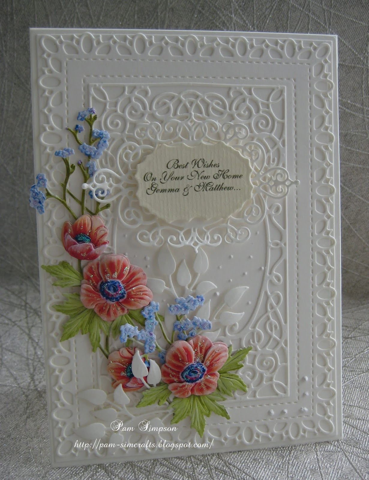 Pamscrafts New Home Cards