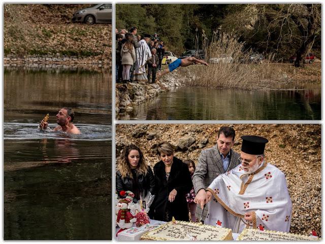 Στην γραφική λίμνη Βηρού, γιόρτασε τα Θεοφάνεια ο Δήμος Δωδώνη
