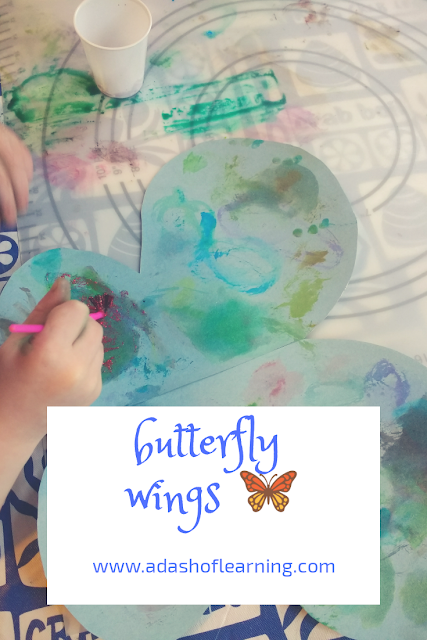 DIY Butterfly Dress Up Wings