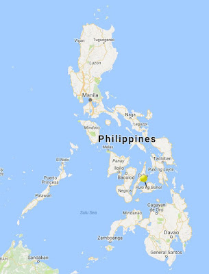 bohol philippines location