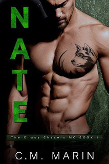 Nate - an engaging MC romance book promotion C.M. Marin