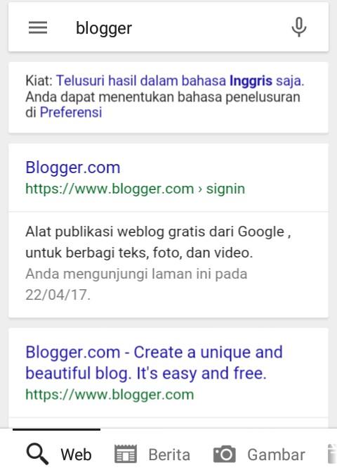 Cara Mudah Membuat Blog/Web Gratis dengan Smartphone