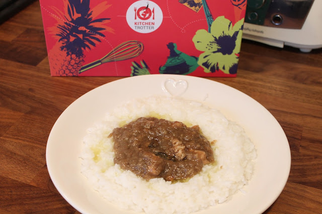 Ayam Areh Indonesian coconut curry from ktitchen trotter box