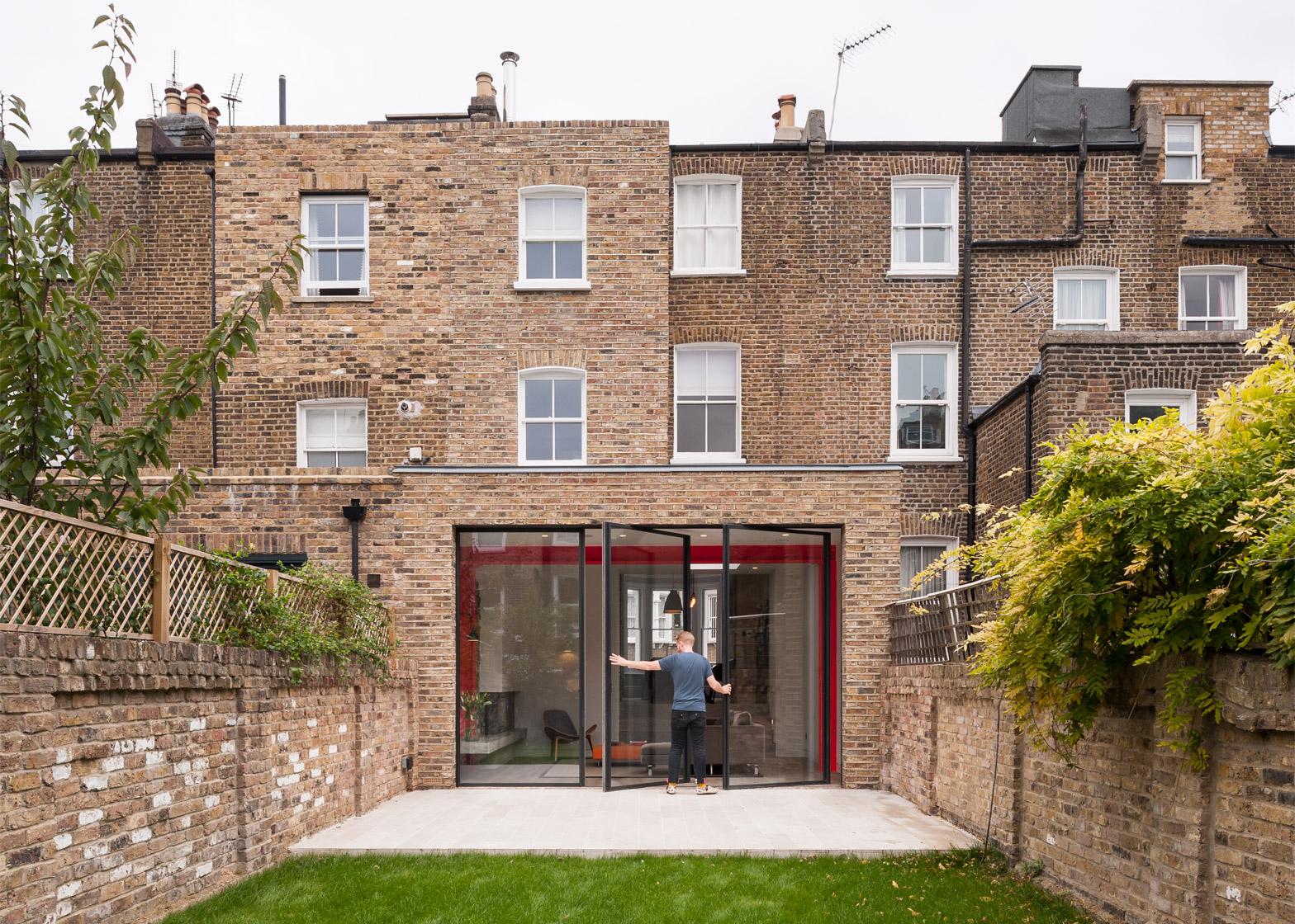 Estensione moderna di una casa vittoriana a Londra by Tigg ...