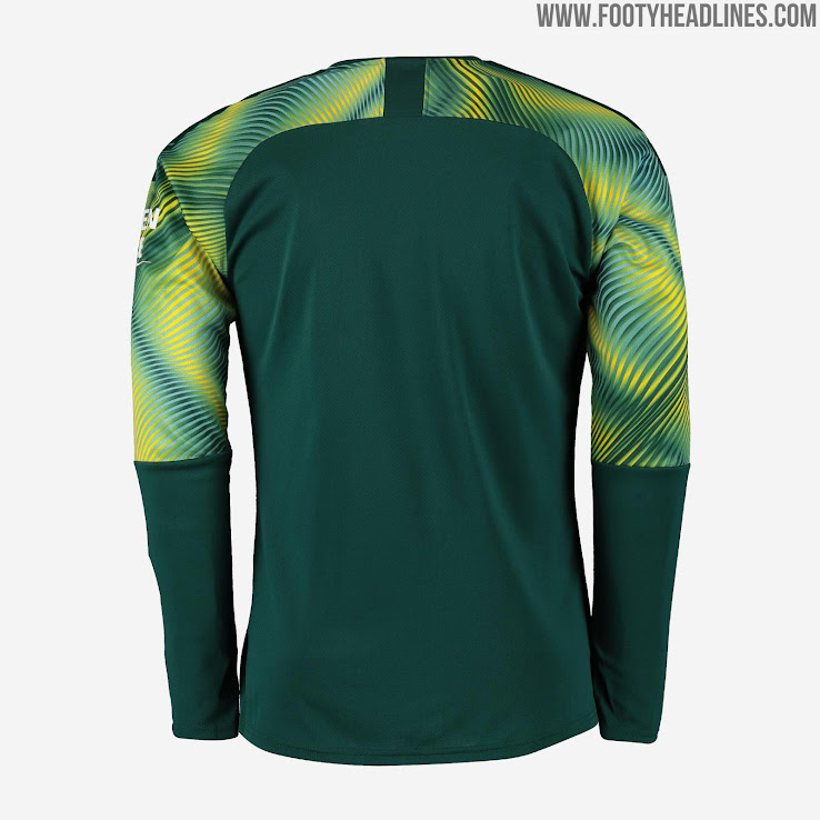 brand new c6840 92b84 Manchester City 19-20 Goalkeeper Home, Away & Third Kits ...