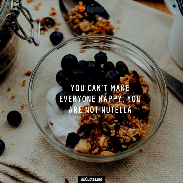 funny food quote about people