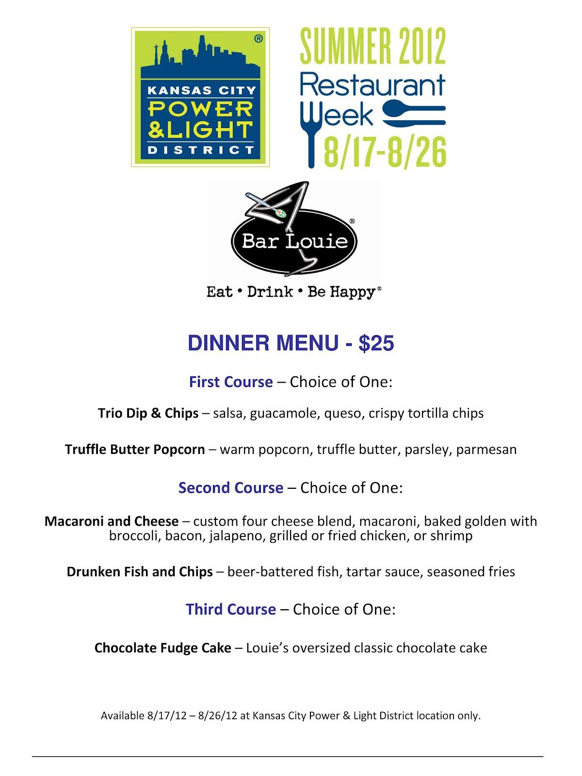 District Restaurant Week