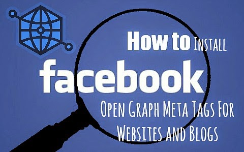 How to install facebook's open graph meta tag technology on your website or blog via geniushowto.blogspot.com social sharing