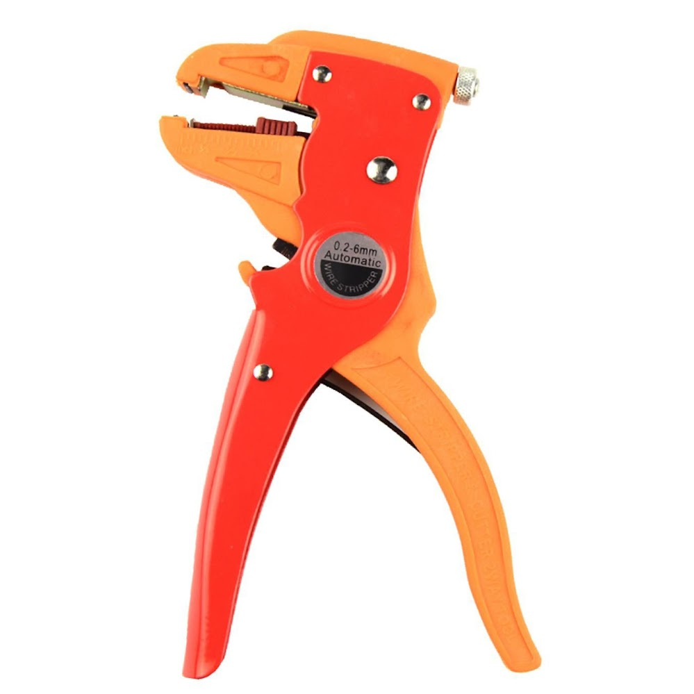 LENX Professional 2 in 1 Adjustable Automatic Cable Wire Stripper and Cutter &eagle nose pliers