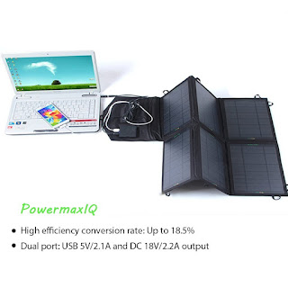 SUNKINGDOM™ 39W 2-Port DC USB Solar Charger