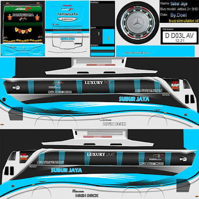Download Kumpulan Livery Bus Simulator Indonesia (BUSSID) Terbaru 2018 - JemberSantri