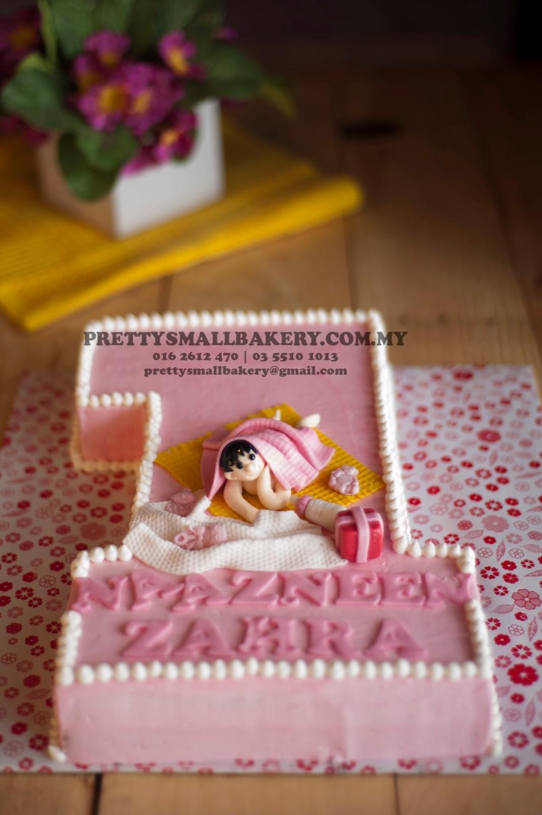 Kek Birthday Yang Sangat Cute Prettysmallbakery