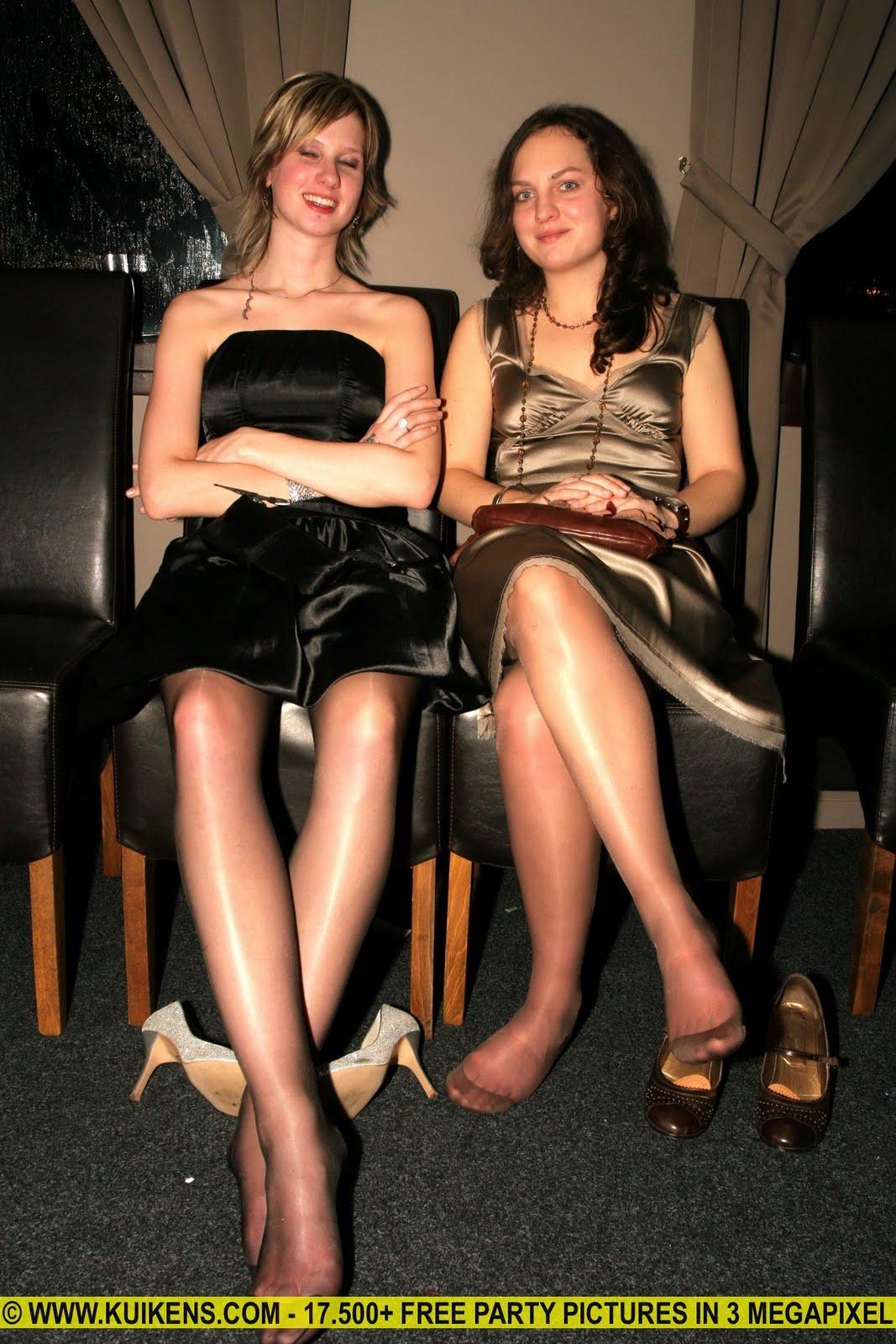 Older Women Nylon Feet