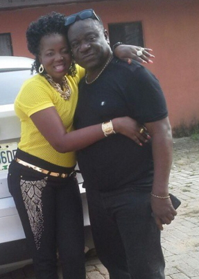 mr ibu wife gives birth