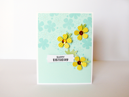 Happy Birthday Card By Nicole Nowosad