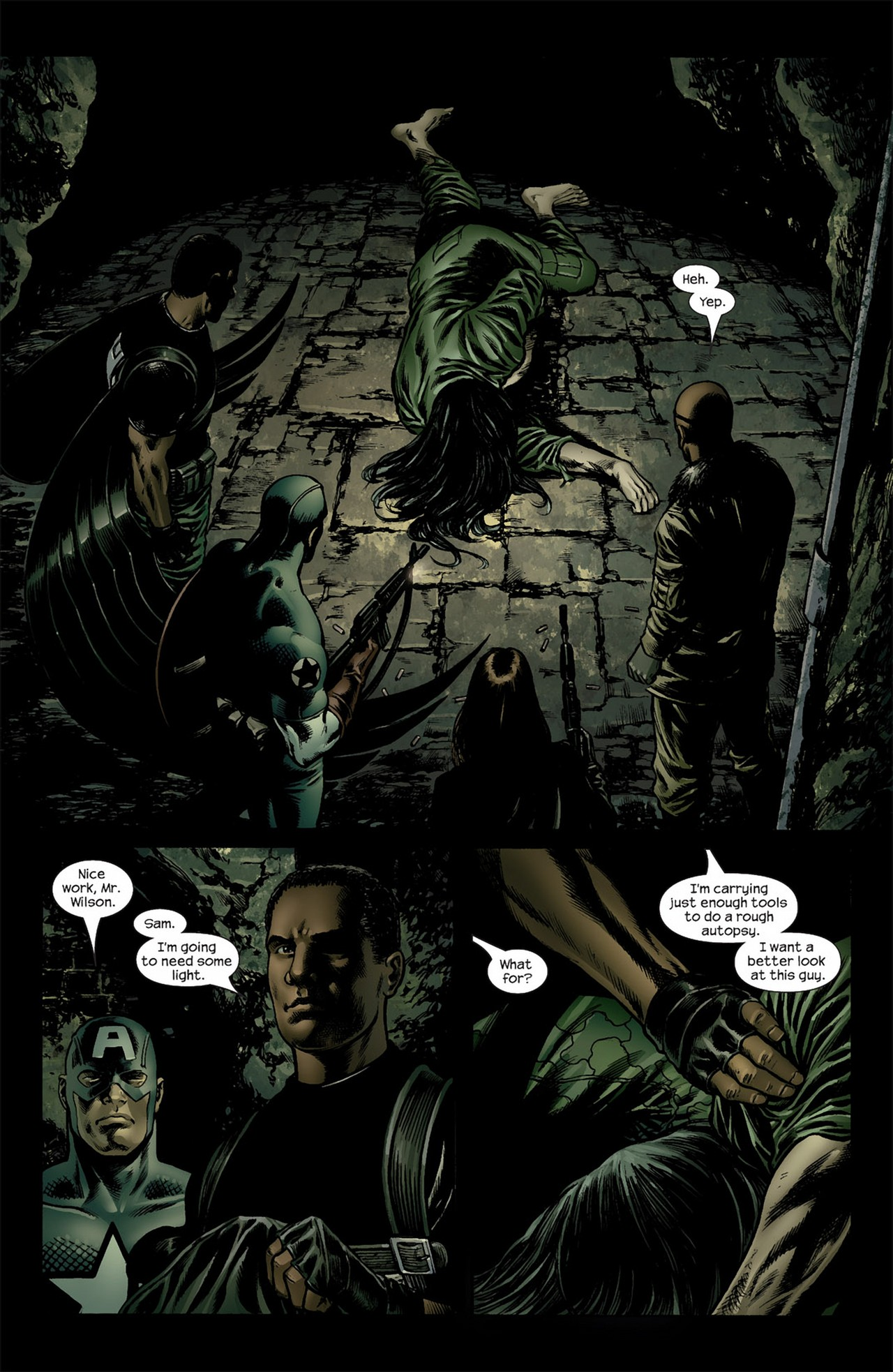 Read online Ultimate Nightmare comic -  Issue #3 - 15