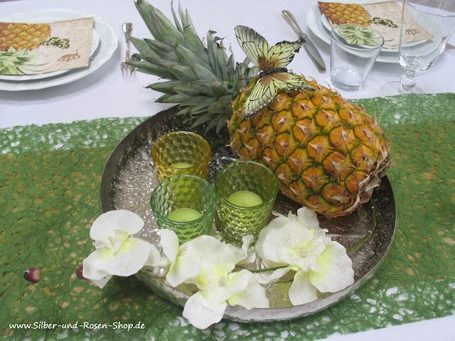 silber die dekorative ananas the beautiful pineapple. Black Bedroom Furniture Sets. Home Design Ideas