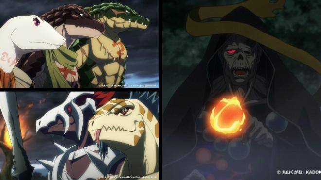 アニメ「オーバーロードⅡ」2期3話感想:リザードマンたちの戦いはこれからだ!後半へ続く!【オバロ2期】