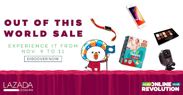 Lazada Online Revolution Out of this World Sale November 2017