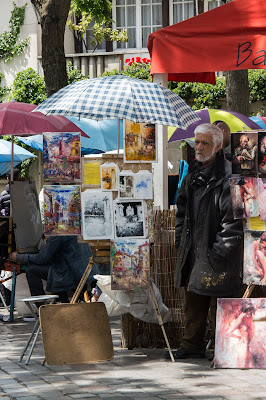 Place du Tertre, Montmartre, Paris, France
