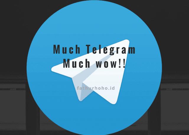 alasan menggunakan telegram