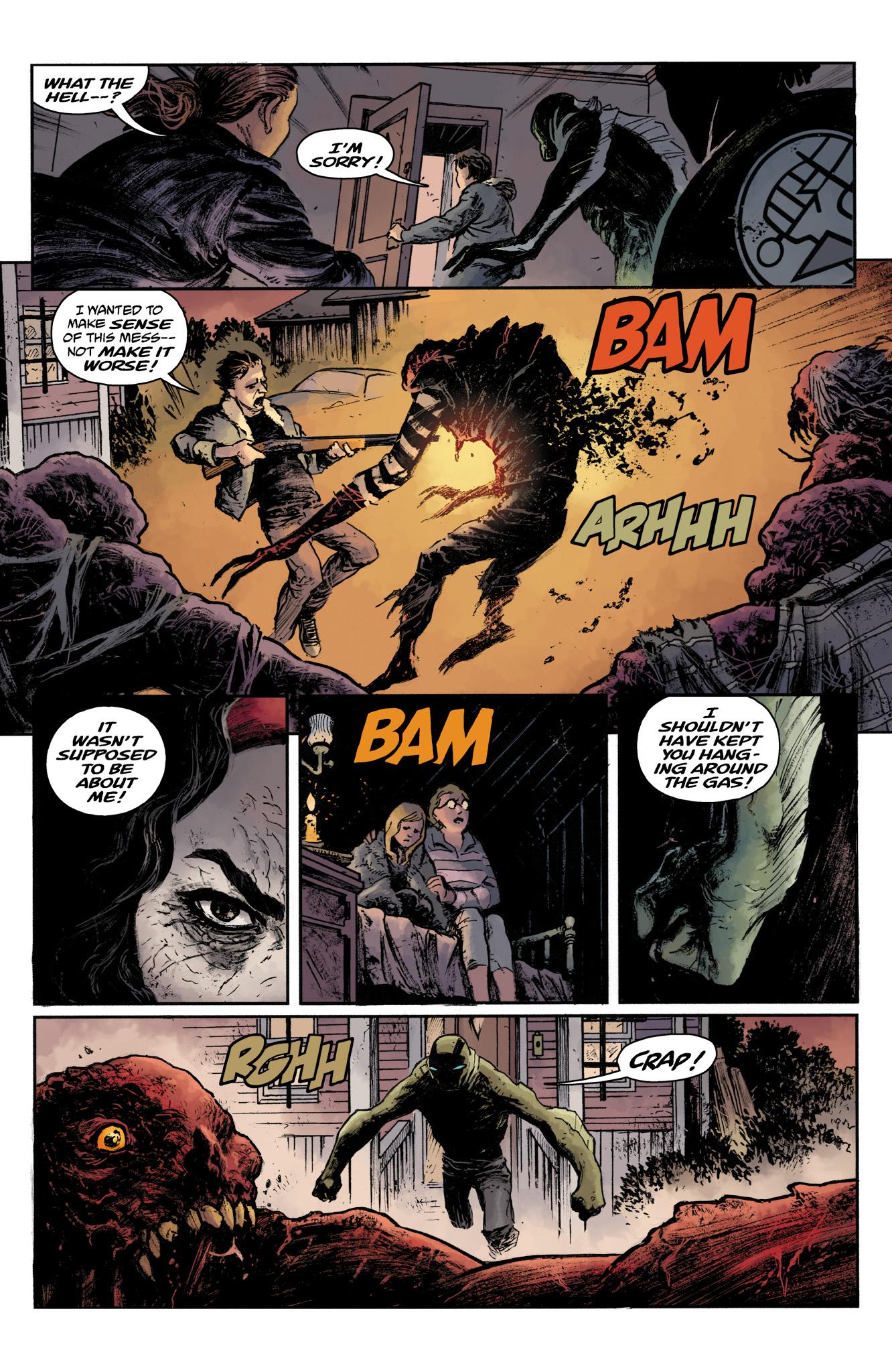 Read online Abe Sapien comic -  Issue #17 - 10