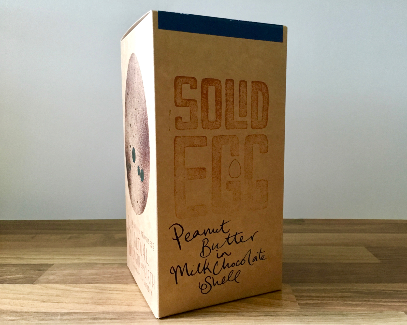The Solid Egg hand-illustrated packaging