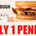 Burger King Sourdough Burgers Only 1 Penny For New Burger King Online Accounts