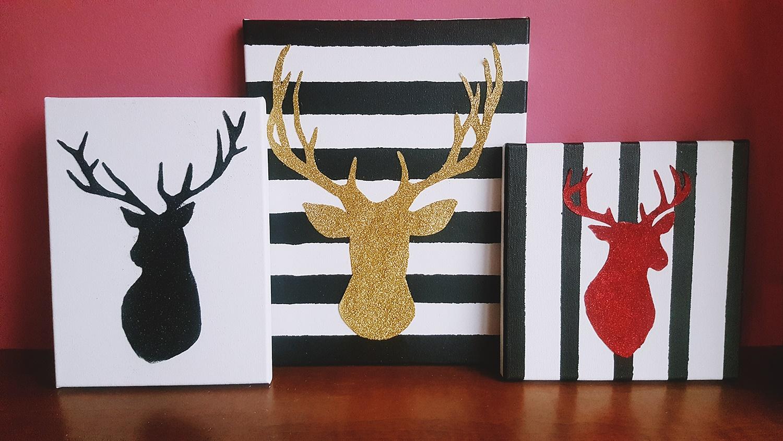 DIY: Grafiki świąteczne – Renifer