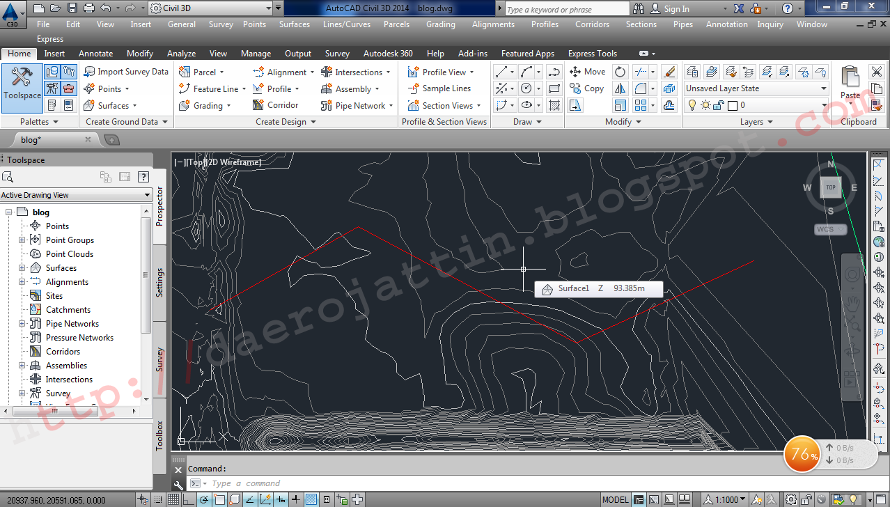 Autocad Civil 3D - Membuat Alignment From Polyline | Safety On