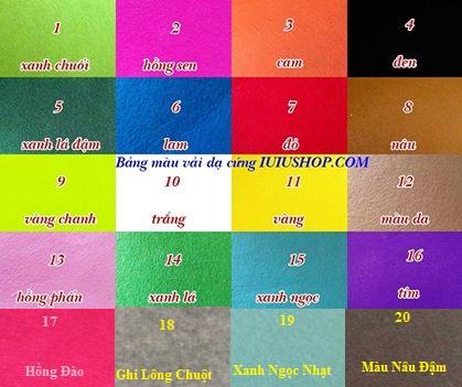 Bán vải dạ cứng giá rẻ làm handmade, móc khóa, bán buôn vải dạ nỉ giá rẻ nhất Hà Nội
