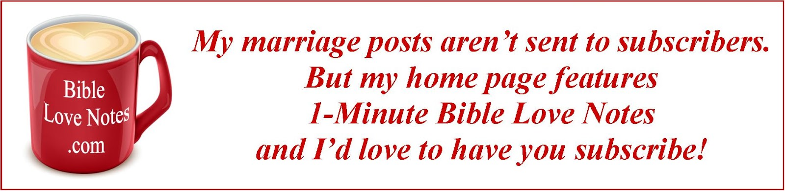 1 Minute Bible Love Notes Bless Your Marriage Love Your Mother In Law