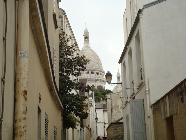 Paris Sacre Cour Montmartre travel trip