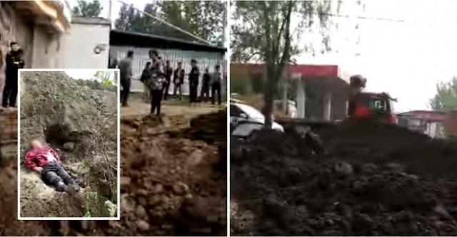 Gereja Dibuldozer di China, Pendeta dan Istrinya Terkubur Hidup-Hidup