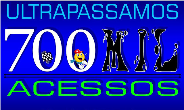 O Blog Ultrapassou os 700 Mil acessos, Obrigado a Todos os Leitores!