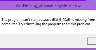 تحميل برنامج d3dx9_43 dll