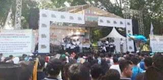 Polres Lotim Gelar Festival Milennial Road Safety Di Taman Rinjani Selong
