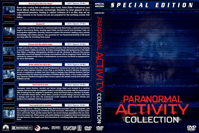 Paranormal Activity Collection DVD Cover