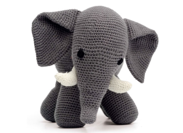 Amigurumi Elephant Pattern : How to make elephant crochet pattern